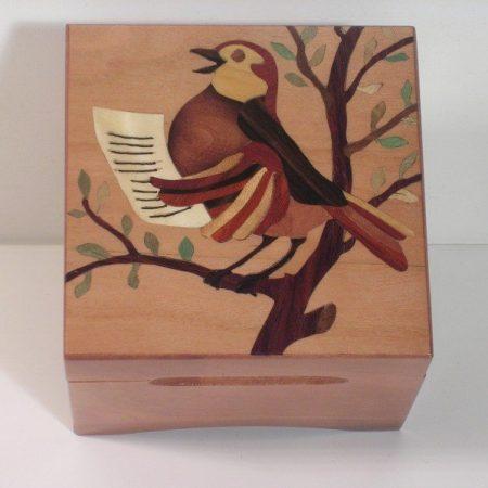 """Boîte à musique """"Oiseau"""""""