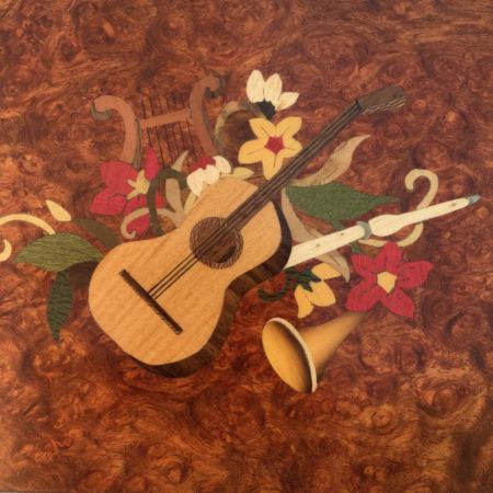 """Coffret à bijoux """"Instruments de musique"""" EM1"""